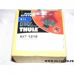 Kit pieds fixation barre de toit KIT1218 pour volkswagen passat sedan de 2001 à 2004