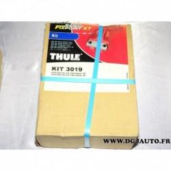 Kit pieds fixation barre de toit KIT3019 pour citroen C4 hatchback partir 2005