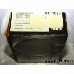 Kit pieds fixation barre de toit KIT3025 pour opel astra H partir 2004 zafira B partir 2005