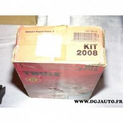 Kit pieds fixation barre de toit KIT2008 pour renault megane scenic 1 partir 1997
