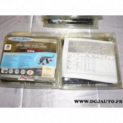 Kit semelle installation pieds barre de toit activa 007125/A8-1 pour audi A3 partir 2004 A6 partir 2005 Q7 partir 2006 opel astr