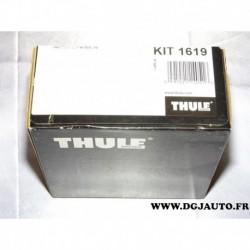 Kit pieds fixation barre de toit KIT1619 pour nissan juke partir de 2010