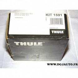 Kit pieds fixation barre de toit KIT1591 pour audi A6 sedan de 04/2010 à 05/2011 A6 sedan