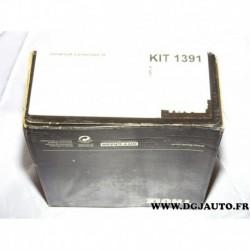 Kit pieds fixation barre de toit KIT1391 pour suzuki swift MK3 partir 2005 version 5 portes