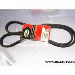 Courroie accessoire 6DPK1698 pour BMW E81 E82 E87 E88 E90 E91 E92 E93 serie 1 3 116D 118D 120D 123D 318D 320D 325D 330D diesel