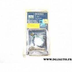 Jeu de contact vis platinée rupteur + condensateur montage allumage allumeur bosch BKS063 pour ford fiesta 1 2 1.1 1100 de 76 à