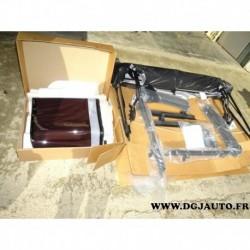 Kit complet capote toit ouvrant vitre plastique contour 82213651 pour jeep wrangler partir de 2007