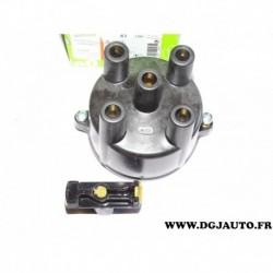 Tete allumage avec rotor doigt allumeur ducellier 244561 pour opel vectra A astra F corsa A kadett E 1.4 1.6