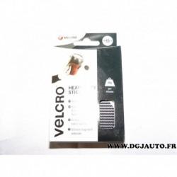 Boite 6 pastilles auto-agrippantes noires fixation extrême 45 mm capacité 2kg VELCRO® 60248