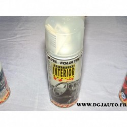 Bombe aerosol 400mml appret interieur folia tec 20502 carstyling