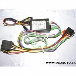 Faisceau module boitier commutation haut parleur + alimentation kit main libre 44530 THB bury S8
