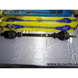 Cardan transmission avant droit 21/23 cannelures T1140ASP pour renault clio 2 kangoo 1.2 1.4 1.6 essence 1.9D 1.9 D diesel