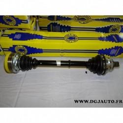 Cardan transmission avant gauche 38 cannelures T1226A pour audi 90 B3 avec ABS 2.3 20V partir 1988