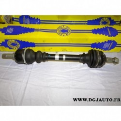 Cardan transmission avant gauche 24/25 cannelures T197 pour peugeot 406 dont break 1.9TD 1.9 TD diesel 2.0 16V essence