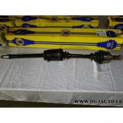 Cardan transmission avant droit 26/29 cannelures T923 pour rover 218 418 TD turbo diesel