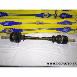 Cardan transmission avant gauche 24/28 cannelures T187 pour citroen XM peugeot 605 2.0 essence 2.1D 2.1 D diesel
