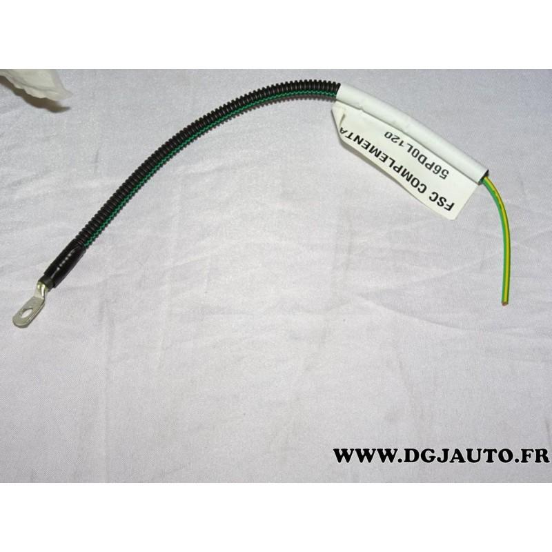 Voiture Auto 1 m Câble d/'alimentation Masse Câble Batterie Ground Câble 10qmm universel phase finale