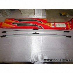 Paire balais essuie glace 2 x 700mm souple 8671018223 pour peugeot 407