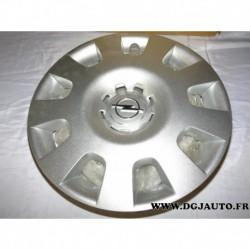 Enjoliveur de roue cache jante 13191473 pour opel astra H vectra C corsa D adam meriva zafira
