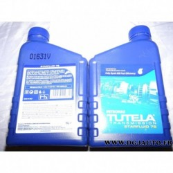 Bidon 1L 1 litre huile transmission boite de vitesse automatique tutela starfluid 7S petronas pour fiat lancia alfa romeo merced