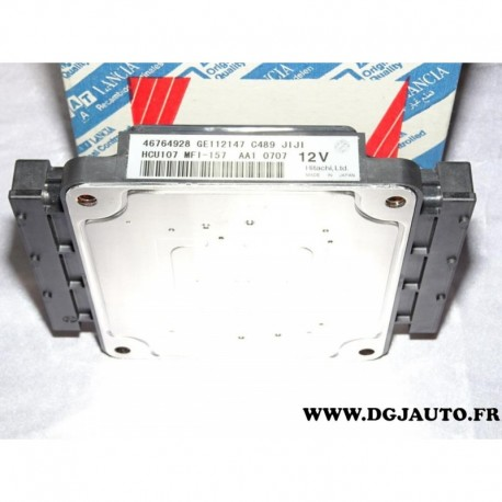 Centrale injection calculateur 46764928 pour fiat coupé 1.8 16V de 1996 à 2000