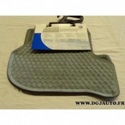 Paire tapis de sol arriere caoutchouc gris 1K0061511 528 pour volkswagen golf 5 partir de 2004 jetta partir 2006 scirocco partir