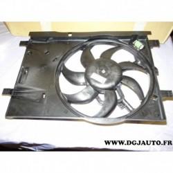 Ventilateur radiateur refroidissement moteur 51797135 pour fiat grande punto evo my2012 my2013 my2018 1.2 1.4 essence avec clima