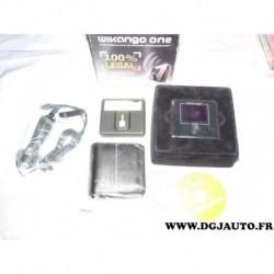 Assistant a la conduite alerte GPS wikango one avec chargeur allume cigare CD logiciel etui transport (pas de support voir conte