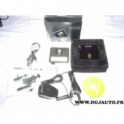 Assistant a la conduite alerte GPS wikango one avec chargeur allume cigare CD logiciel etui transport (voir contenu photo) modèl