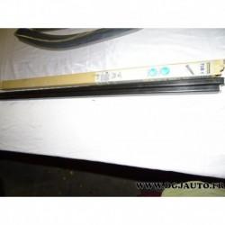 Paire barre de toit acier (juste les barres) 108cm de long norauto TUB1