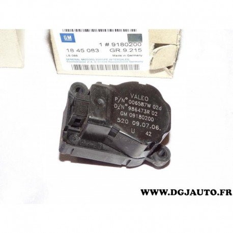 Engrenage actionneur moteur Air conditionné pour VAUXHALL COMBO II 2 C Corsa C Signum Vectra C