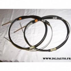 Paire cable de frein à main 4642035470 + 4643035380 pour toyota hilux 4runner de 1988 à 1994