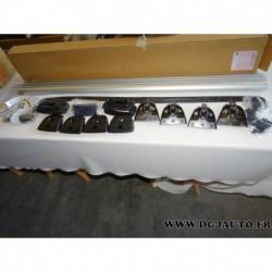 Paire de barre de toit aluminium porte bagages capacité 70kg 95599106 pour opel combo D tour partir 2012