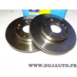 Paire disques de frein avant 262mm ventilé 9004417J pour mercedes 190 W201