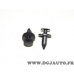 Lot 2 clips agrafe fixation calandre tole protection moteur 21030249 pour opel antara ampera chevrolet captiva