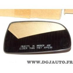 Glace miroir vitre retroviseur avant droite 96800778 pour chevrolet aveo kalos