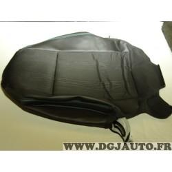 Housse dossier de siege cuir noir couture verte 95259660 pour chevrolet trax partir de 2013
