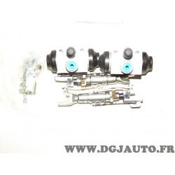 Kit frein arriere prémonté 180x32mm montage AP lockheed 71740712 pour fiat punto 2 de 1999 à 2003
