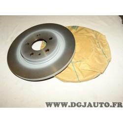 Paire de disques de frein arriere 272mm plein 9464222687 pour fiat ulysse 2 citroen C8 peugeot 807 lancia phedra