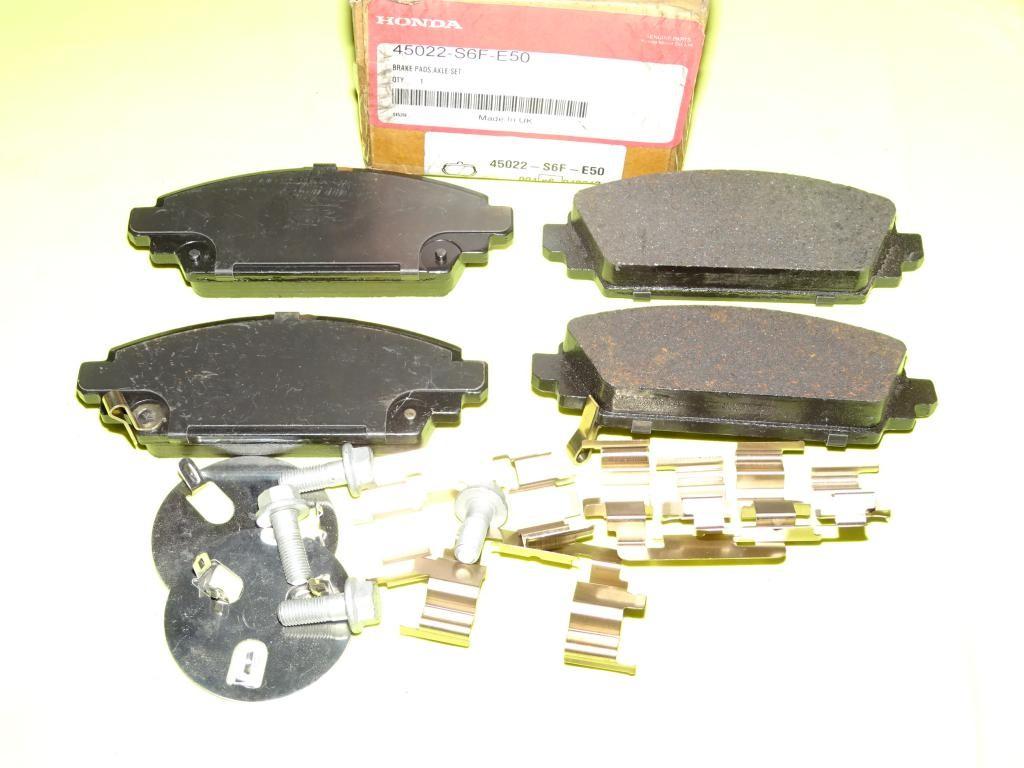 Jeux 4 plaquettes de frein avant montage lucas 45022S6FE50 pour honda  accord CG CK civic EU EP EV