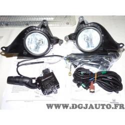 Kit phare antibrouillard avant avec comodo commodo et faisceau electrique 08V31SWW600 pour honda CR-V CRV RE partir de 2007