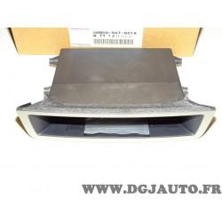Vide poche tableau de bord contour gris argent 08B50S5T601A pour honda civic