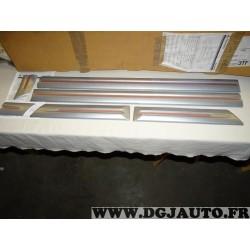 Ensemble 6 moulures baguette de porte grise M313828A19 pour mitsubishi pajero montero V90 LWB partir de 2007