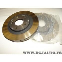 Paire disques de frein avant ventilé 285mm diametre MR334996 pour mitsubishi pajero montero V60