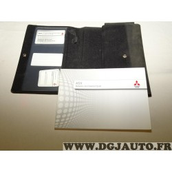 Pochette documentation manuel du conducteur carnet notice utilisation entretien 0GAF13E2 pour mitsubishi ASX