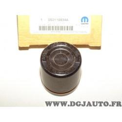 Piston cylindre etrier de frein arriere 05011983AA pour jeep grand cherokee de 1999 à 2004