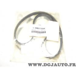 1 Courroie accessoire 4PK906 04861735AA pour chrysler voyager dodge caravan fiat scudo ducato iveco daily peugeot expert citroen