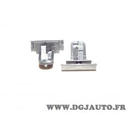 1 Taquet agrafe fixation moulure aile 55156429AA pour jeep cherokee partir de 2003 dodge nitro partir de 2008