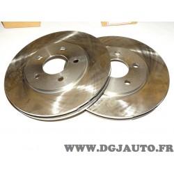 Paire disques de frein avant ventilé V5019229 pour chrysler sebring cirrus dodge stratus plymouth breeze