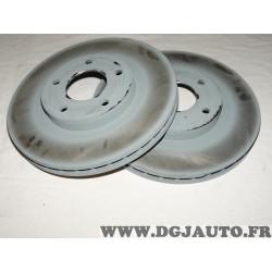 Paire disques de frein avant 294mm diametre ventilé 05105514AA pour jeep compass patriot dodge caliber chrysler sebring chrysler